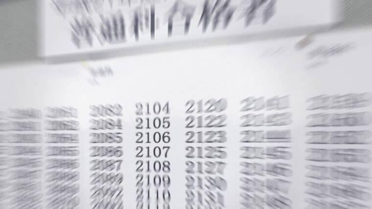 2021年度第一種衛生管理者試験の合格率を集計